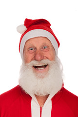 Portrait of Santa Claus