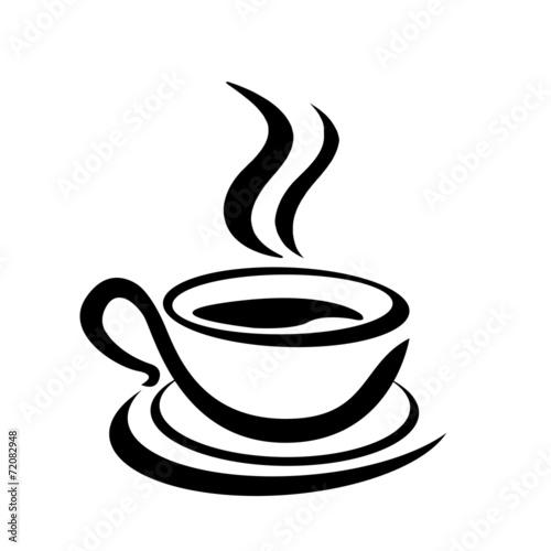kaffeetasse stilisiert stockfotos und lizenzfreie bilder auf bild 72082948. Black Bedroom Furniture Sets. Home Design Ideas