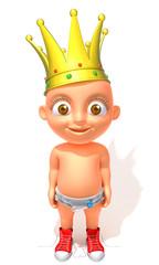 Baby Jake King smile