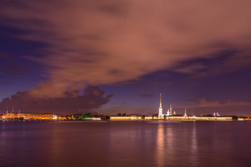 Saint Petersburg, Russia, Peter and Paul Fortress