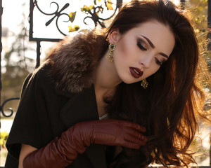 21a0cd0f735cc portrait of elegant lady wearing coat and leather gloves