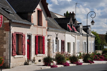 Straße in Langais