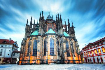 Katedra Świętych Wita, Wacława i Wojciecha Praga,Czechy.