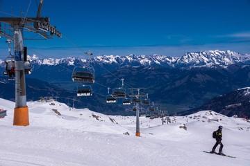 Skigebiet am Gletscher Hohe Tauern