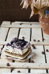 Sweet cake tiramisu