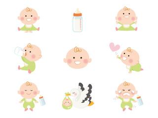 妊娠・出産_イラスト