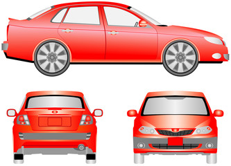 Modern Motor Car.