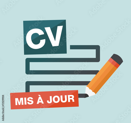 Mise A Jour De Cv Curriculum Vitae Stock Image And Royalty Free