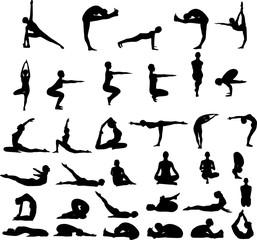 Yoga poses pack
