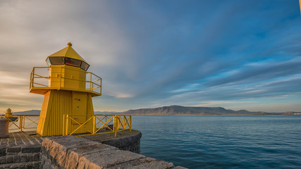 Reykjavik pier