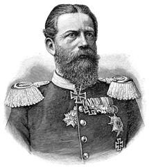 Portrait of Frederick III, German Emperor.