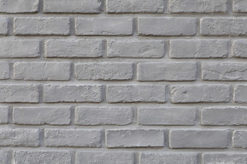 Indoor black brick wall texture and background
