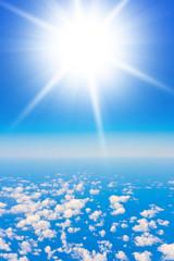 Peaceful Heaven Skies Above