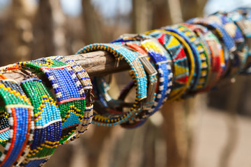 Masai traditional jewelry