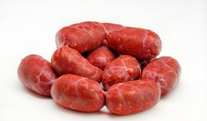 Chorizos crudos