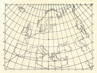 Ptolemy's equal area map projection