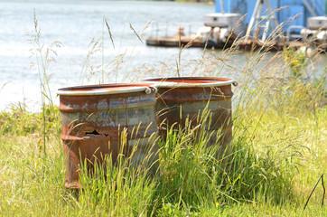 Rusted Barrels