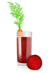 carrot beetroot juice