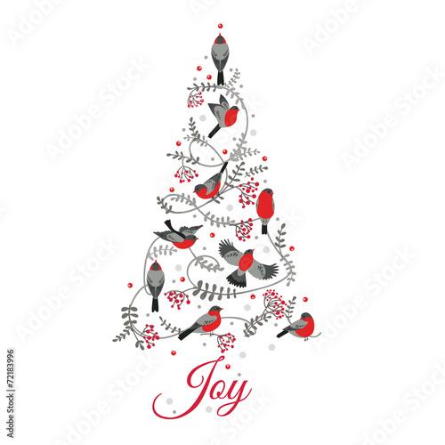 Рождественские открытки вектор 11