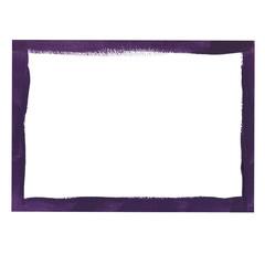 Violet grunge frame