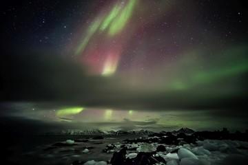 Northern Lights - Arctic landscape