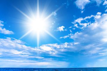 Cloudscape Divine Summer Sun