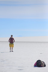 photo shoot in Salar de Uyuni