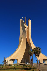 Fotobehang Algerije Mémorial du Martyr à Alger, Algérie