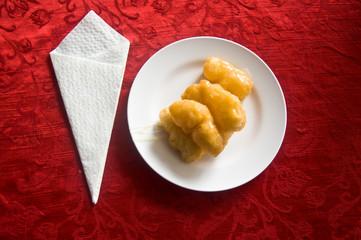 deep-fried doughstick for breakfast