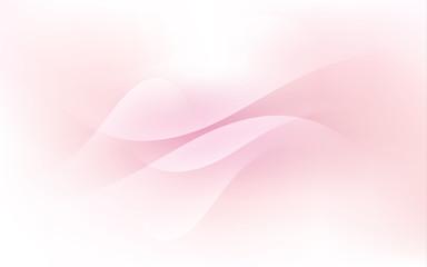 Soft Pink Pastel Light Cloud Waves Sky Background Vector