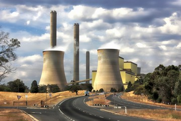 Loy Yang power station in Australia