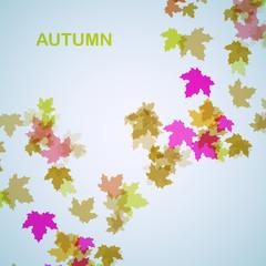 Autumn seasonal background