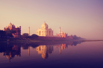 Taj Mahal India Seven Wonders Concepts