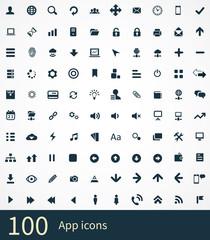 100 app icons