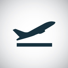airplane up icon