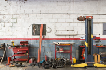 alte Autowerkstatt