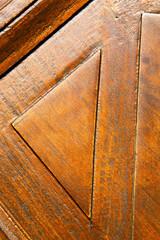 in mozzate rusty brass brown knocker K