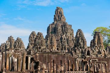 Wall Mural - Bayon temple, Angkor, Cambodia