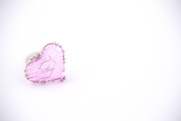Heart shaped.