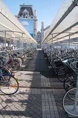 Стоянка велосипедов, Бельгия