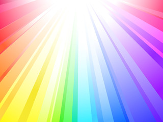 Sunlight (rainbow background)