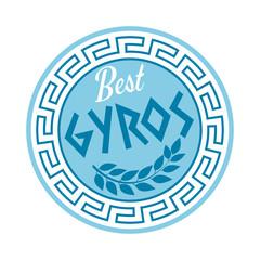 gyros icon symbol zeichen