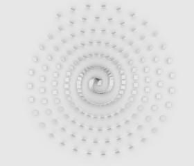 螺旋状に配置された板の背景