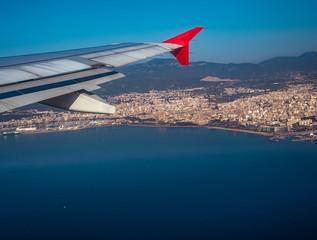 Anflug auf Palma de Mallorca