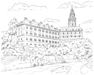 Palace Cesky Krumlov
