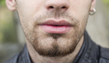 Mouth and facial hair