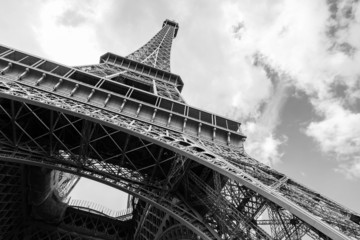 Eiffel Tower, the most popular landmark of Paris