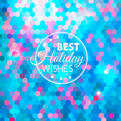 Best holiday abstract blue background