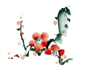 梅の花 [Plum blossoms]