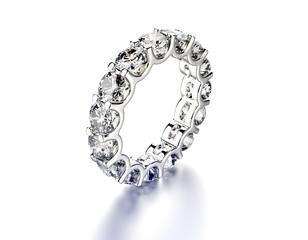 Luxury ring with diamond. Jewelry background